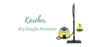 Nettoyeur vapeur karcher au format Traineau Kärcher SC5 Easyfix Premium